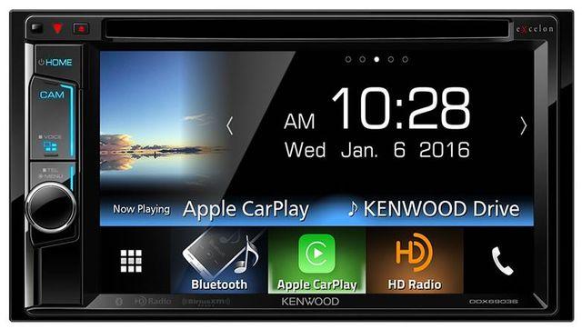 Kenwood Excelon 2-Din Monitor Receiver-DDX6903S