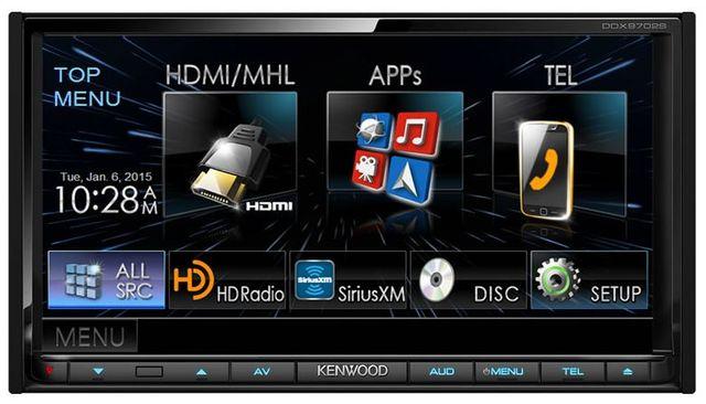 Kenwood 2-DIN Monitor Receiver-DDX9702S