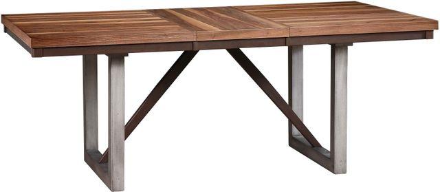 Coaster® Spring Creek Natural Walnut Dining Table-106581
