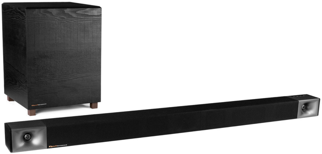 "Klipsch® Bar 48 Black 3.1 Sound Bar with 8"" Wireless Subwoofer-1066557"
