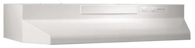 Hotte de cuisinière sous-armoire Broan® de 30 po - Blanc-BU230WW