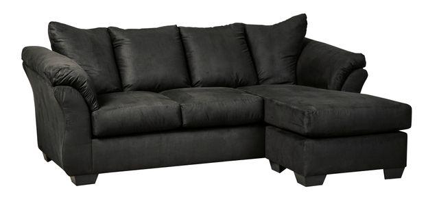 Signature Design by Ashley® Darcy Black Sofa Chaise-7500818