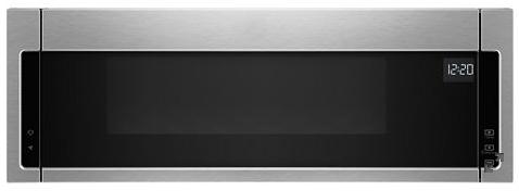 Four à micro-ondes à hotte intégrée de 30 po Whirlpool® de 1,1 pi³ - Acier inoxydable Héritage-YWML55011HS