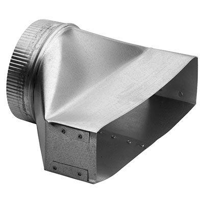 Couverture et extension de conduit Broan® - Acier inoxydable-T460