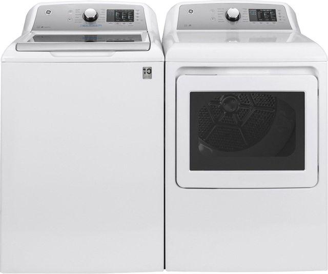 GE® White Laundry Pair-GELAUGTD72EBSNWS