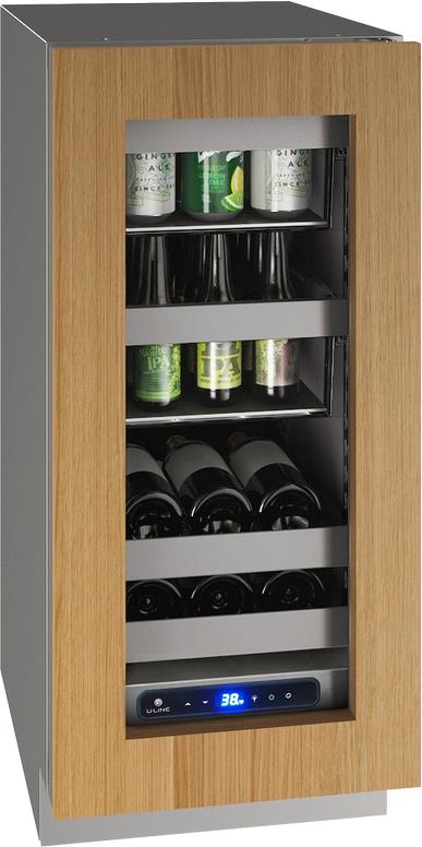 """U-Line® 15"""" Integrated Frame Beverage Center-UHBV515-IG01A"""
