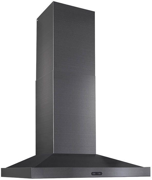 """Broan® Elite EW54000 Series 36"""" Chimney Range Hood-Black Stainless Steel-EW5436BLS"""