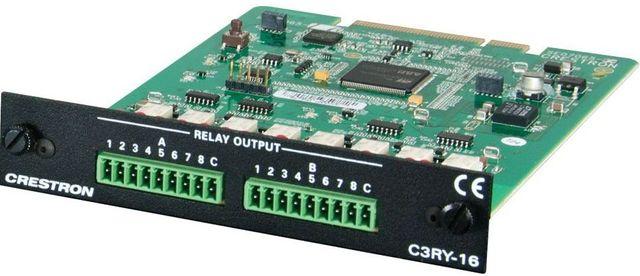 Crestron® 3-Series™ Control Card-C3RY-16