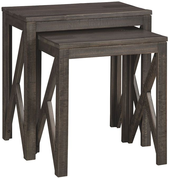 Signature Design by Ashley® Emerdale Set of 2 Washed Gray Accent Tables-A4000229