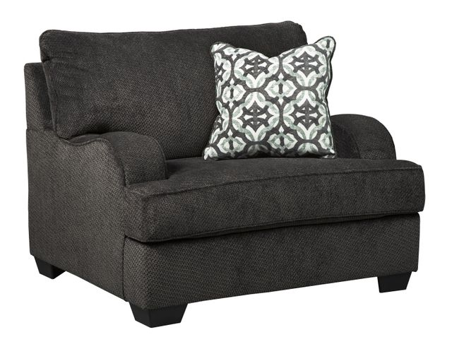 Benchcraft® Charenton Charcoal Chair and a Half-1410123