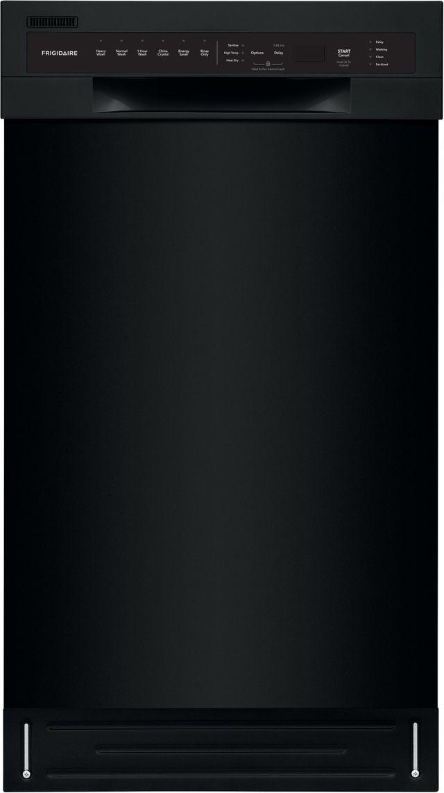 """Frigidaire® 18"""" Black Built In Dishwasher-FFBD1831UB"""