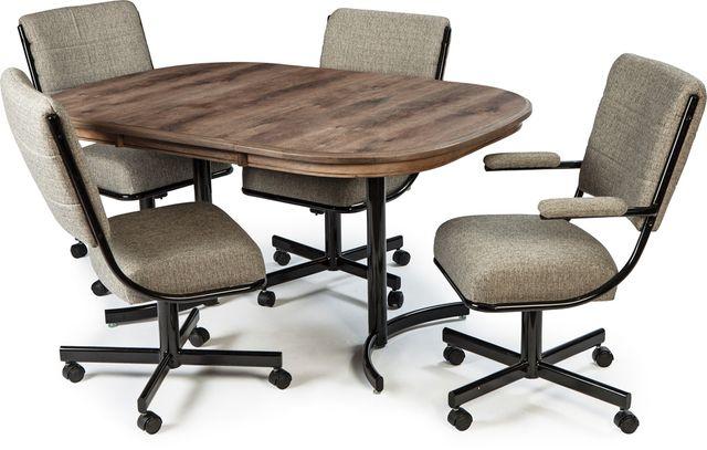 Chromcraft™ Kitchen Décor™ Dining Table-KL324S+KB01SB
