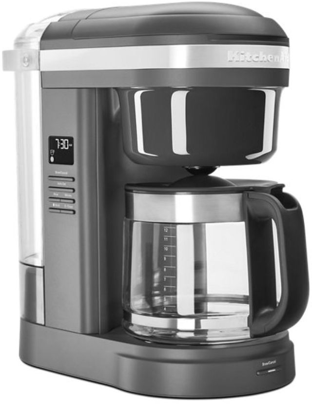 KitchenAid® 12 Cup Matte Charcoal Gray Drip Coffee Maker-KCM1208DG