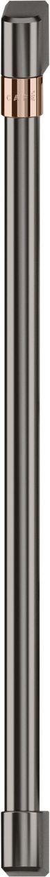 Café™ Brushed Black Wine/Beverage Center Handle Kit-CXQW1H1PPBT