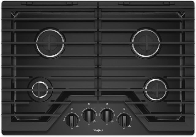 Table de cuisson au gaz Whirlpool® de 30 po - Acier inoxydable-WCG55US0HB