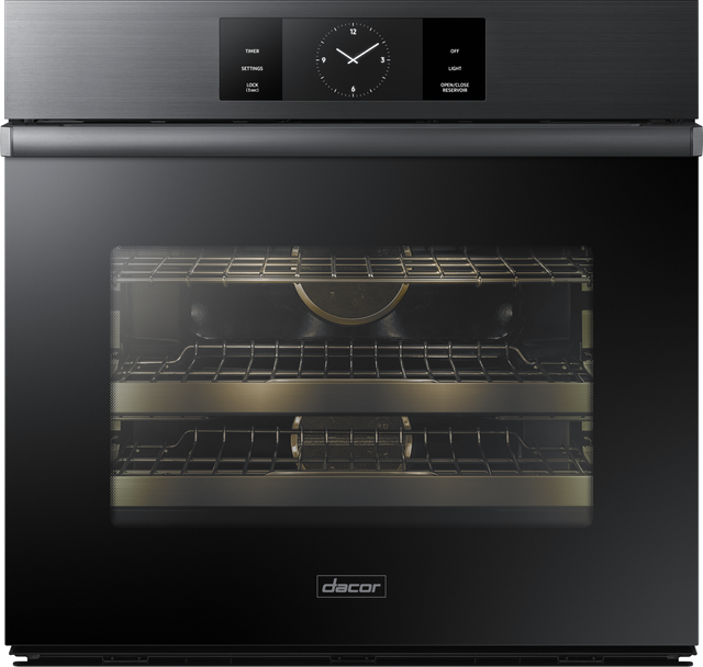 """Dacor® Contemporary 30"""" Electric Single Wall Oven-Graphite Stainless Steel-DOB30M977SM"""