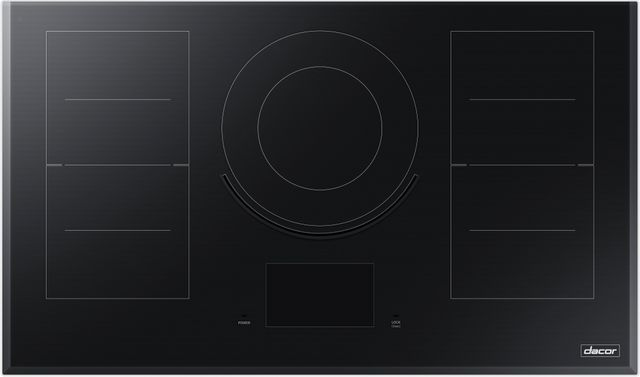"""Dacor® Contemporary 36"""" Induction Cooktop-Black-DTI36M977BB"""
