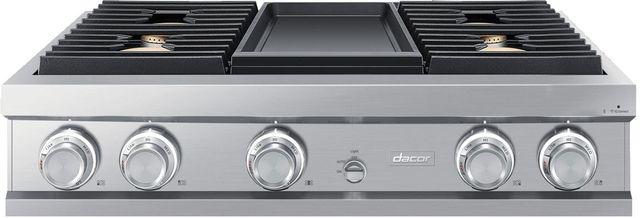 "Dacor® Contemporary 36"" Stainless Steel Gas Rangetop-DTT36M974LS"