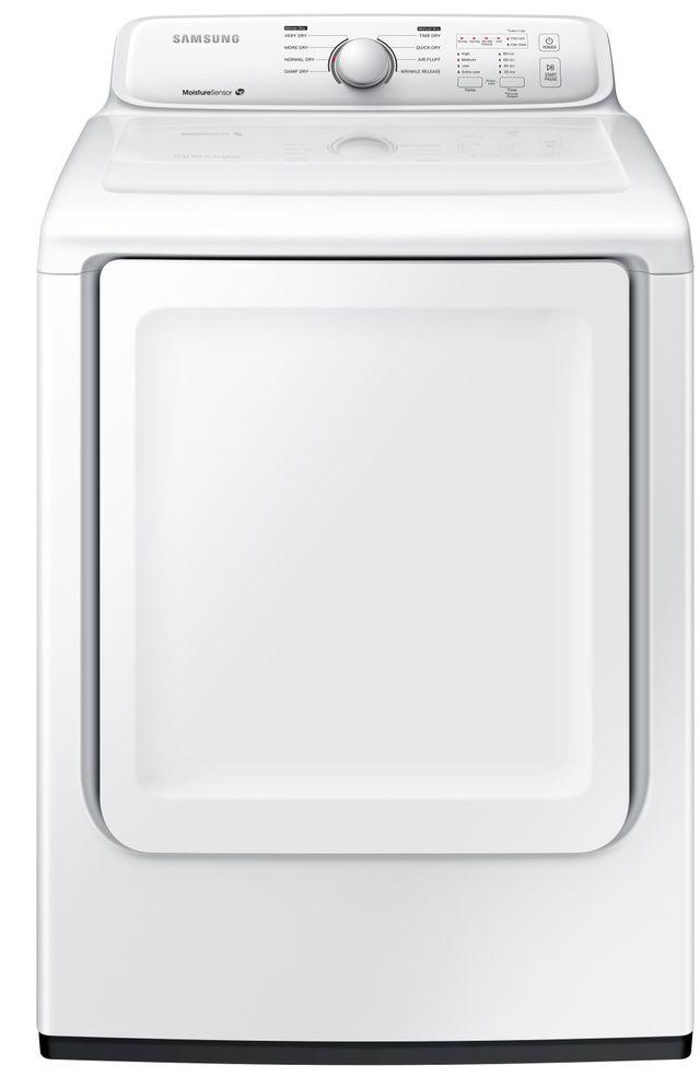 Samsung 7.2 cu. ft. Electric Dryer with Moisture Sensor-White-DV40J3000EW