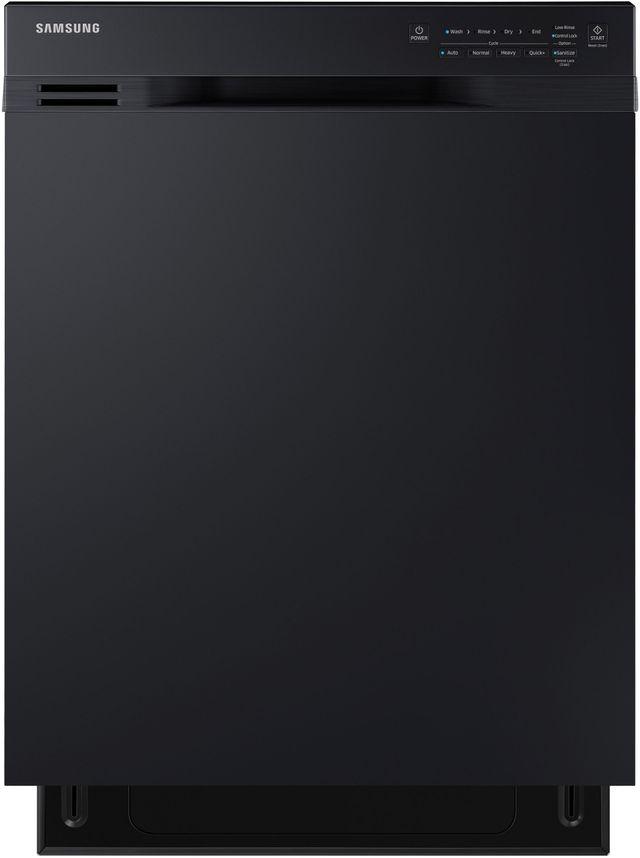 """Samsung 24"""" Built In Dishwasher-Black-DW80N3030UB"""