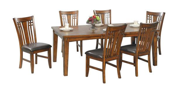 "Winners Only® 78"" Home Dining Zahara Leg Table-DZH4278"
