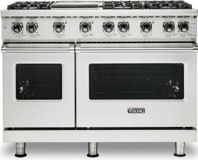 """Viking® Professional 5 Series 48"""" Pro Style Gas Range-Stainless Steel-VGR5486GSS"""