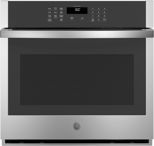 """GE® 30"""" Stainless Steel Electric Single Oven Built In-JTS3000SNSS"""