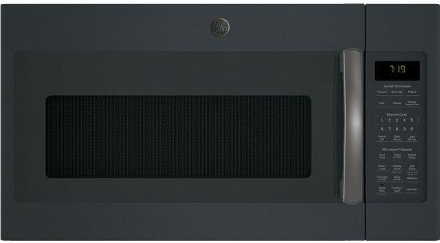 GE® Over the Range Microwave-Black Slate-JNM7196FLDS
