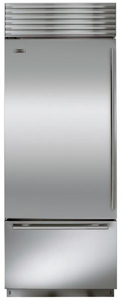 Sub-Zero 17.4 Cu. Ft. Built-In Bottom Freezer Refrigerator-Stainless Steel-BI30US
