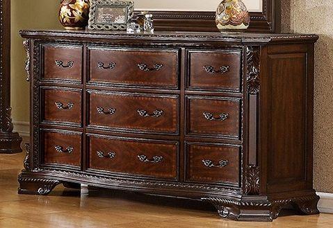 Furniture of America Monte Vista Brown Cherry Dresser-CM7267D