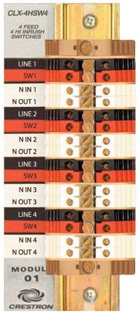 Crestron® Terminal Block-CLT-4HSW4
