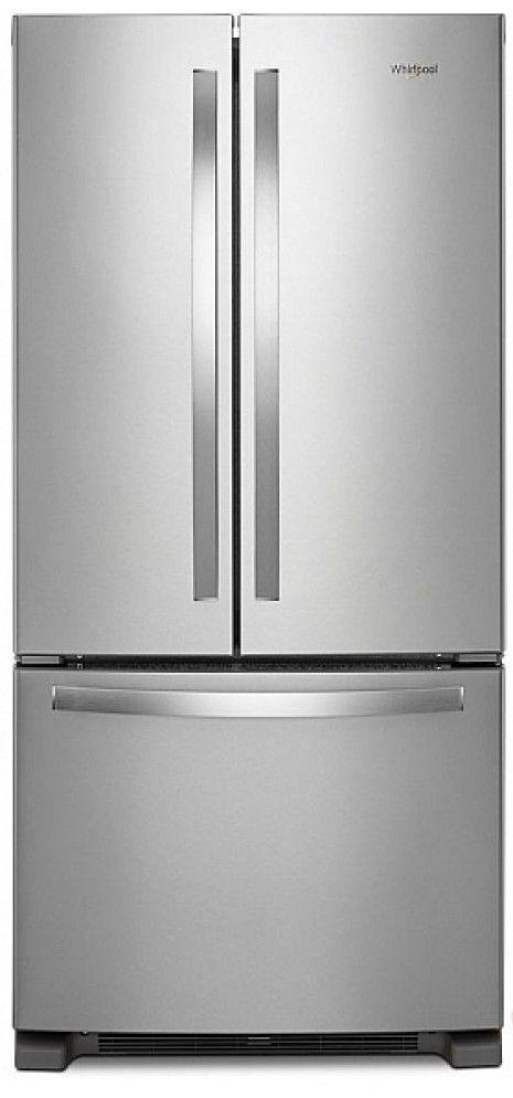 Whirlpool® 22.11 Cu. Ft. Fingerprint Resistant Stainless Steel French Door Refrigerator-WRF532SNHZ