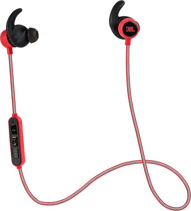JBL® Reflect Mini BT Bluetooth Sport Earphones-Red-JBLREFMINIBTRED