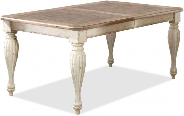 Riverside Furniture Coventry Two Tone Rectangular Dining Table-32550