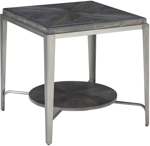 Flandyn Gray Square End Table-T710-2