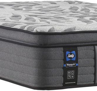 Sealy® Satisfied II Innerspring Euro Pillow Top Medium Split King Mattress-52680631-SK