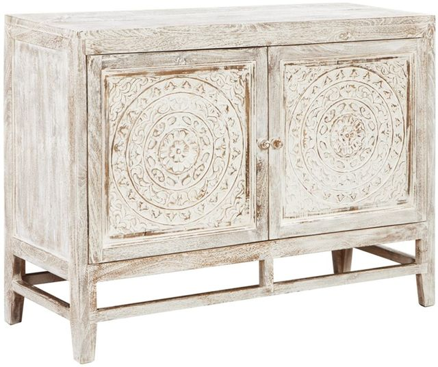 Signature Design by Ashley® Fossil Ridge Light Brown Accent Cabinet-A4000038