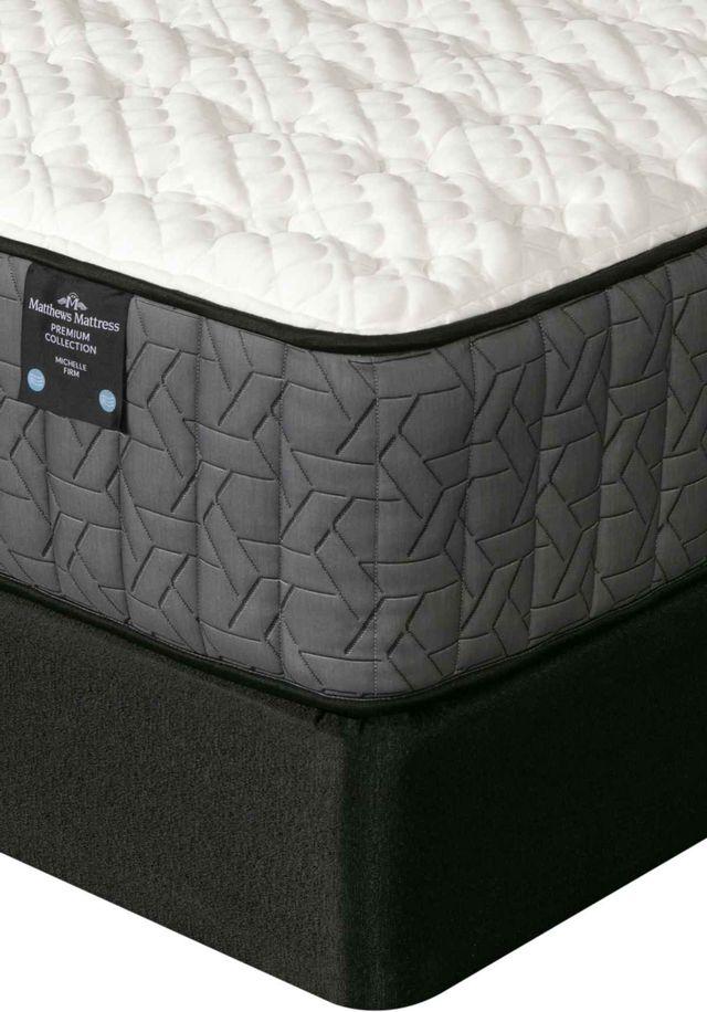 Matthews Mattress Premium Collection Michelle Pocketed Coil Firm California King Mattress-4000631-CK