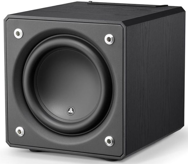 "JL Audio® E-Sub 10"" Powered Subwoofer-Black Ash-E110-ASH-LE"