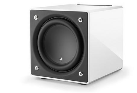 """JL Audio E-sub 12"""" Powered Subwoofer Speaker-White-E112-WHITE"""