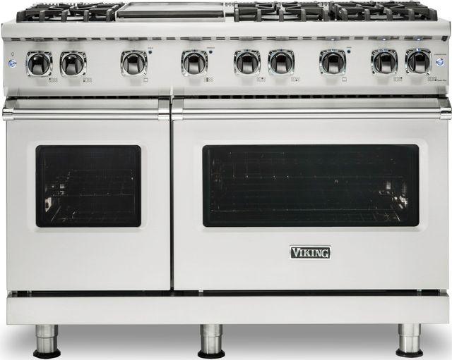 "Viking® Professional 5 Series 48"" Pro Style Gas Range-Stainless Steel-VGR5486GSSLP"