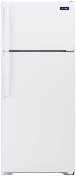 Crosley® 17.5 Cu. Ft. White Top Mount Refrigerator-XRS18GGAWW