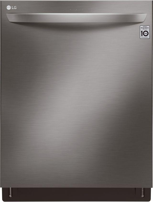 "LG 24"" Black Stainless Steel Built In Dishwasher-LDT7808BD"