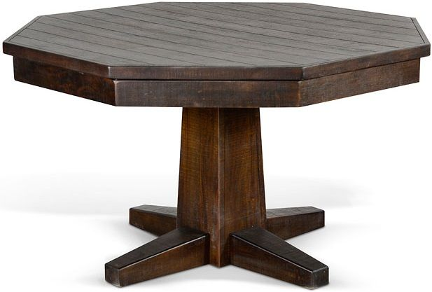 Sunny Designs Homestead Tobacco Leaf Game and Dining Table-1033TL2