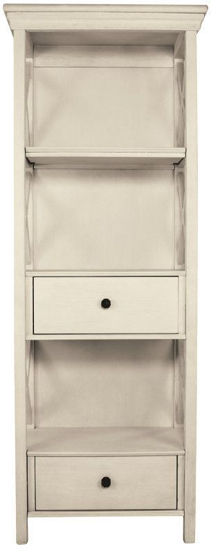 Signature Design by Ashley® Bolanburg Antique White Display Cabinet-D647-76