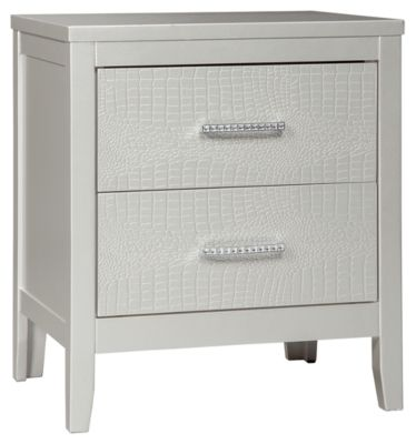 Signature Design by Ashley® Olivet Silver Nightstand-B560-92