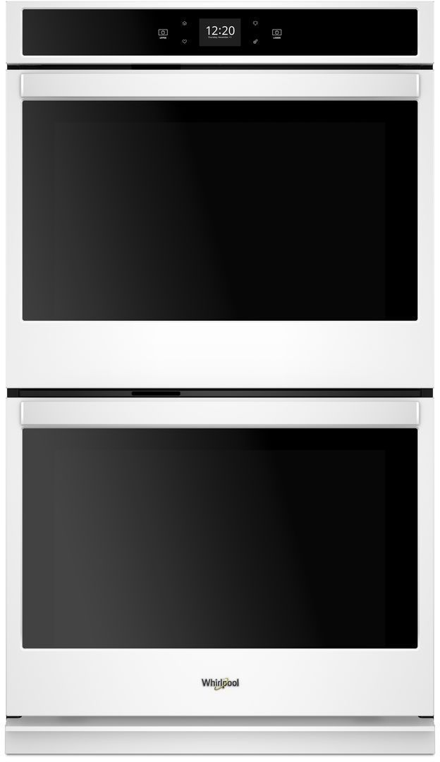 """Whirlpool® 27"""" Electric Double Oven Built In-White-WOD51EC7HW"""