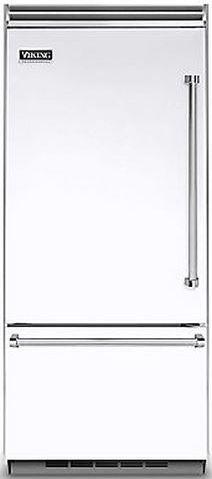 Viking® Professional 5 Series 20.4 Cu. Ft. Built-In Bottom Freezer Refrigerator-White-VCBB5363ELWH
