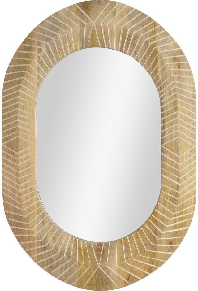 Miroir à la chaux Zenya, blanchi, Renwil®-MT2377