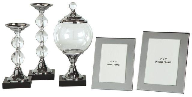 Signature Design by Ashley® Diella Silver Finish Accessory Set-A2C00125